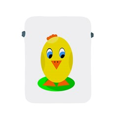 Cute Chicken  Apple Ipad 2/3/4 Protective Soft Cases by Valentinaart