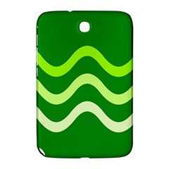 Green Waves Samsung Galaxy Note 8 0 N5100 Hardshell Case  by Valentinaart