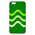 Green waves iPhone 6 Plus/6S Plus TPU Case Front