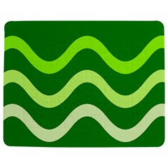 Green Waves Jigsaw Puzzle Photo Stand (rectangular) by Valentinaart