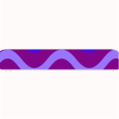 Purple Waves Small Bar Mats by Valentinaart