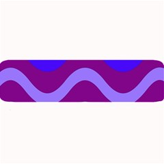 Purple Waves Large Bar Mats by Valentinaart
