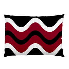 Decorative Waves Pillow Case by Valentinaart