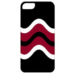 Decorative Waves Apple Iphone 5 Classic Hardshell Case by Valentinaart