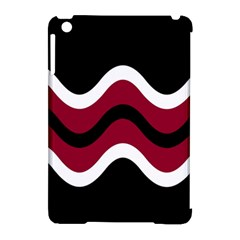 Decorative Waves Apple Ipad Mini Hardshell Case (compatible With Smart Cover) by Valentinaart