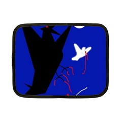 Night Birds  Netbook Case (small)  by Valentinaart