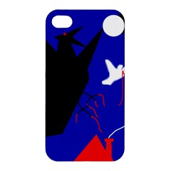 Night Birds  Apple Iphone 4/4s Premium Hardshell Case by Valentinaart