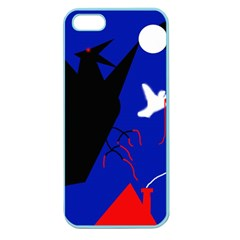 Night Birds  Apple Seamless Iphone 5 Case (color) by Valentinaart