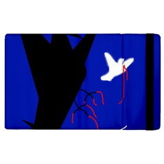 Night Birds  Apple Ipad 2 Flip Case by Valentinaart