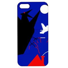 Night Birds  Apple Iphone 5 Hardshell Case With Stand by Valentinaart
