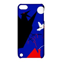 Night Birds  Apple Ipod Touch 5 Hardshell Case With Stand by Valentinaart