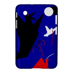 Night Birds  Samsung Galaxy Tab 2 (7 ) P3100 Hardshell Case  by Valentinaart