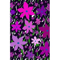 Purple Fowers 5 5  X 8 5  Notebooks by Valentinaart