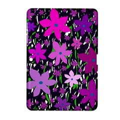Purple Fowers Samsung Galaxy Tab 2 (10 1 ) P5100 Hardshell Case  by Valentinaart