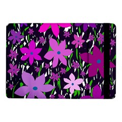Purple Fowers Samsung Galaxy Tab Pro 10 1  Flip Case by Valentinaart