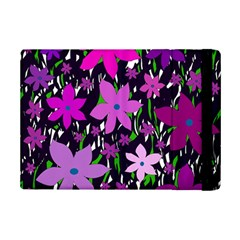 Purple Fowers Ipad Mini 2 Flip Cases by Valentinaart