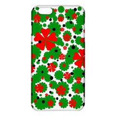 Red And Green Christmas Design  Iphone 6 Plus/6s Plus Tpu Case by Valentinaart