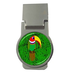 Toucan Money Clips (round)  by Valentinaart