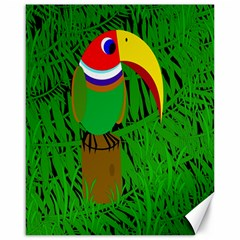 Toucan Canvas 16  X 20   by Valentinaart