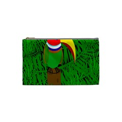 Toucan Cosmetic Bag (small)  by Valentinaart
