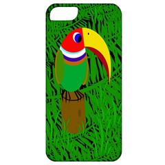 Toucan Apple Iphone 5 Classic Hardshell Case by Valentinaart