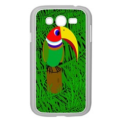 Toucan Samsung Galaxy Grand Duos I9082 Case (white) by Valentinaart