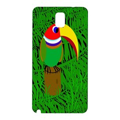 Toucan Samsung Galaxy Note 3 N9005 Hardshell Back Case by Valentinaart