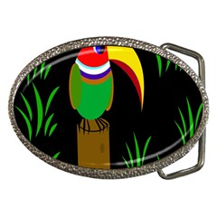 Toucan Belt Buckles by Valentinaart