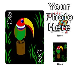 Toucan Playing Cards 54 Designs  by Valentinaart