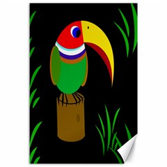 Toucan Canvas 24  X 36  by Valentinaart