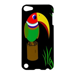 Toucan Apple Ipod Touch 5 Hardshell Case by Valentinaart