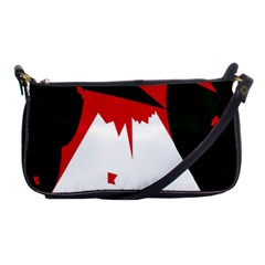 Volcano  Shoulder Clutch Bags by Valentinaart