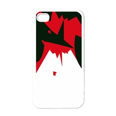 Volcano  Apple Iphone 4 Case (white) by Valentinaart