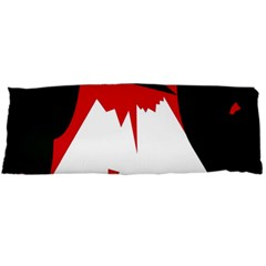 Volcano  Body Pillow Case (dakimakura) by Valentinaart