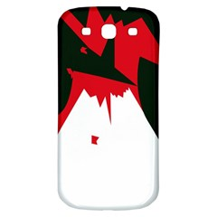 Volcano  Samsung Galaxy S3 S Iii Classic Hardshell Back Case by Valentinaart