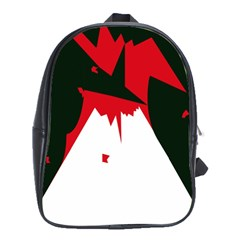Volcano  School Bags (xl)  by Valentinaart
