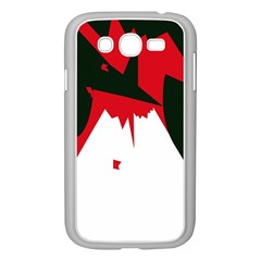 Volcano  Samsung Galaxy Grand Duos I9082 Case (white) by Valentinaart