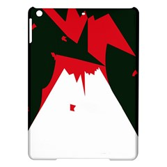Volcano  Ipad Air Hardshell Cases by Valentinaart