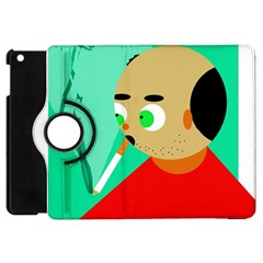 Smoker  Apple Ipad Mini Flip 360 Case by Valentinaart