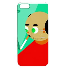 Smoker  Apple Iphone 5 Hardshell Case With Stand by Valentinaart