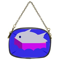 Big Fish Chain Purses (one Side)  by Valentinaart