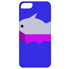 Big Fish Apple Iphone 5 Classic Hardshell Case by Valentinaart