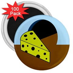 Cheese  3  Magnets (100 Pack) by Valentinaart
