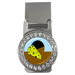 Cheese  Money Clips (cz)  by Valentinaart