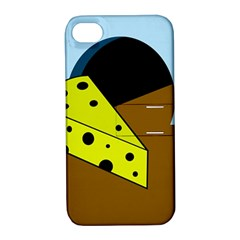 Cheese  Apple Iphone 4/4s Hardshell Case With Stand by Valentinaart