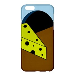 Cheese  Apple Iphone 6 Plus/6s Plus Hardshell Case by Valentinaart