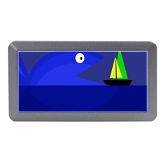 Blue Monster Fish Memory Card Reader (mini) by Valentinaart