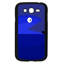 Blue Monster Fish Samsung Galaxy Grand Duos I9082 Case (black) by Valentinaart