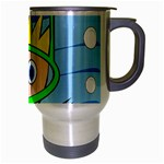 Diver Travel Mug (Silver Gray) Right