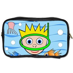 Diver Toiletries Bags by Valentinaart